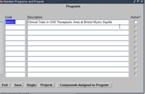 Programs module